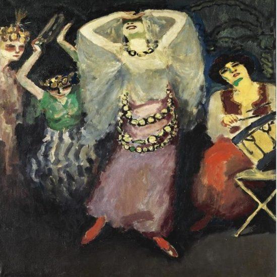 Fatima and her troupe - Kees van Dongen