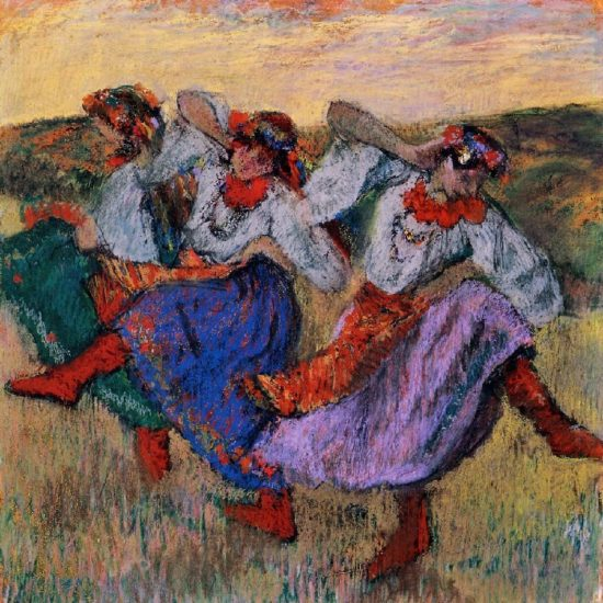 Russian dancers - Edgar Degas
